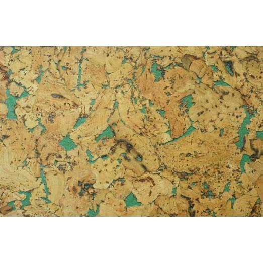 Пробковое покрытие  Hawai Green Wax RY76001e Ebeco  (уп=1,98м2)