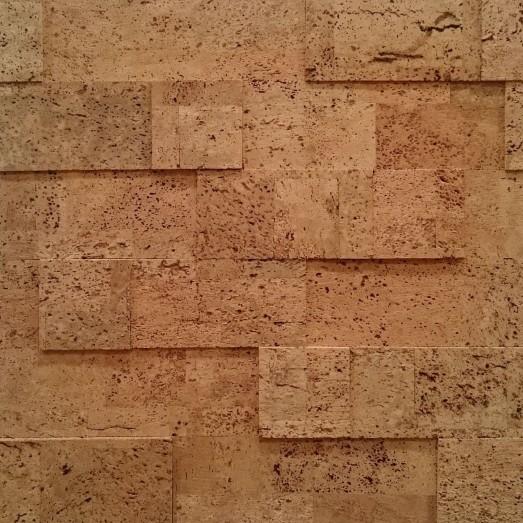Пробковое покрытие YR 01001 Brick Ebeco 300x100-7mm-box=0,6m2