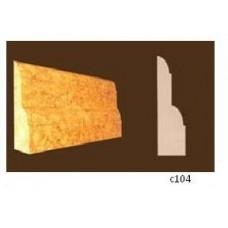 Плинтус 2-х слойный (40 х 10мм)  C104