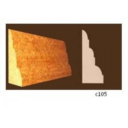 Плинтус 3-х слойный (45 х 20мм)  C105