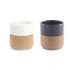 TEA CUPS  - чашка чайная с элементами пробки WH004