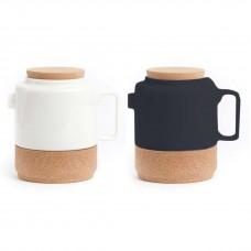 TEA POT - чайник заварочный обрамление из пробки WH003