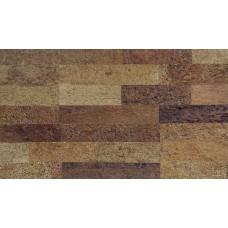 Клеевое покрытие из натуральной пробки ECO CORK NR01001 Aldeia/5 600х300х6mm
