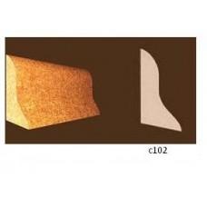 Купить Плинтус из пробки Евро (900x40х20 мм) C102