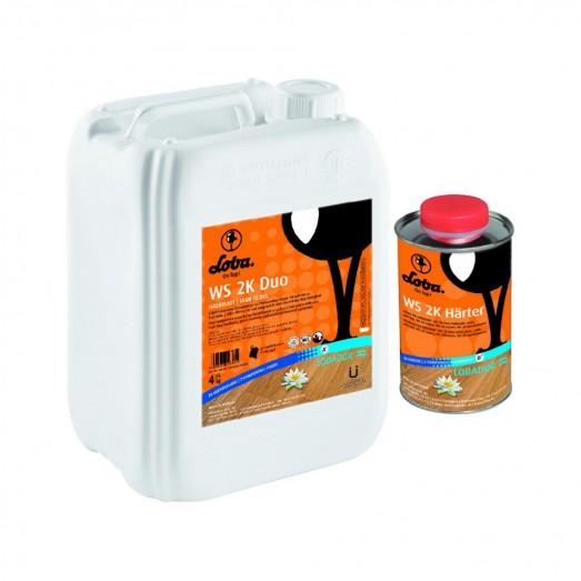 Купить Лак WS 2k Supra CorkDUO усил.керамика (2-х компанентный)  1 лит